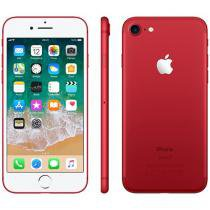 "iPhone 7 Vermelho / Red Special Edition Apple - 128GB 4G 4.7"" Câm. 12MP + Selfie 7MP iOS 11"