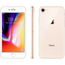 "iPhone 8 Apple 256GB Dourado 4G Tela 4,7"" Retina Câmera 12MP + Selfie 7MP iOS 11 Proc. Chip A11"