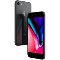 "iPhone 8 Apple 64GB Cinza Espacial 4G Tela 4,7"" - Retina Câm. 12MP + Selfie 7MP iOS 11"