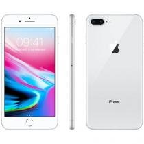 "iPhone 8 Plus Apple 256GB Prata 4G - Tela 5,5"" Retina Câmera 12MP iOS 11 Proc. Chip A11"