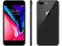 "iPhone 8 Plus Apple 64GB Cinza Espacial 4G - Tela 5,5"" Retina Câmera 12MP iOS 11 Proc. Chip A11"
