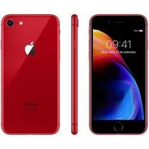 "iPhone 8 Product (RED) Special Edition Apple 256GB - Vermelho 4G 4.7"" Retina Câmera 12MP + Selfie 7MP"