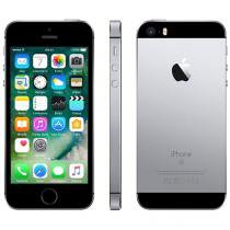 "iPhone SE Apple 128GB Cinza Espacial 4G Tela 4"" - Retina Câm. 12MP iOS 10 Proc. Chip A9 Touch ID"