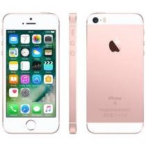"iPhone SE Apple 128GB Ouro Rosa 4G Tela 4"" - Retina Câm. 12MP iOS 10 Proc. Chip A9 Touch ID"
