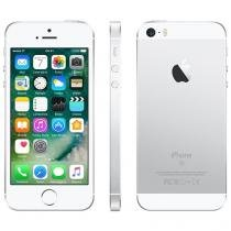 "iPhone SE Apple 128GB Prateado 4G Tela 4"" - Retina Câm. 12MP iOS 10 Proc. Chip A9 Touch ID"