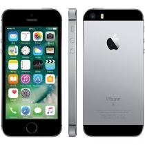 "iPhone SE Apple 16GB Cinza Espacial 4G Tela 4"" - Retina Câm. 12MP iOS 10 Proc. Chip A9 Touch ID"