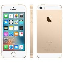 "iPhone SE Apple 16GB Dourado 4G Tela 4"" Retina - Câm. 12MP iOS 10 Proc. Chip A9 Touch ID"