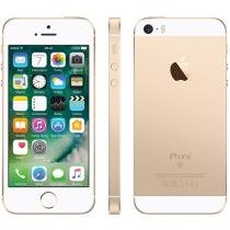 "iPhone SE Apple 16GB Dourado 4G Tela 4"" - Retina Câm. 12MP iOS 10 Proc. Chip A9 Touch ID"