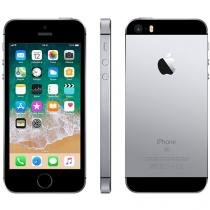 "iPhone SE Apple 32GB Cinza Espacial 4G Tela 4"" - Retina Câm. 12MP iOS 10 Proc. Chip A9 Touch ID"