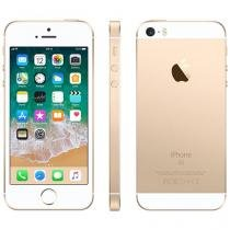 "iPhone SE Apple 32GB Dourado 4G Tela 4"" - Retina Câm. 12MP iOS 10 Proc. Chip A9 Touch ID"