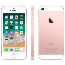 "iPhone SE Apple 32GB Ouro Rosa 4G Tela 4"" - Retina Câm. 12MP iOS 11 Proc. Chip A9 Touch ID"