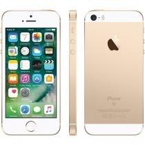 "iPhone SE Apple 64GB Dourado 4G Tela 4"" - Retina Câm. 12MP iOS 10 Proc. Chip A9 Touch ID"