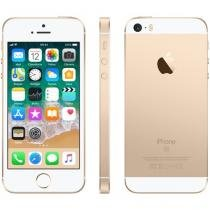 "iPhone SE Apple 64GB Dourado 4G Tela 4"" Retina - Câm. 12MP iOS 9 Proc. Chip A9 Touch ID"