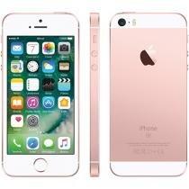 "iPhone SE Apple 64GB Ouro Rosa 4G Tela 4"" - Retina Câm. 12MP iOS 10 Proc. Chip A9 Touch ID"