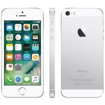 "iPhone SE Apple 64GB Prateado 4G Tela 4"" - Retina Câm. 12MP iOS 10 Proc. Chip A9 Touch ID"