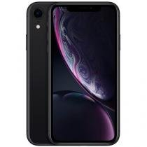 "iPhone XR Apple 128GB Preto 4G Tela 6,1"" Retina - Câmera 12MP + Selfie 7MP iOS 12 A12 Bionic Chip"