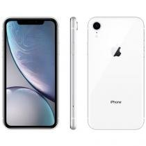 "iPhone XR Apple 256GB Branco 4G Tela 6,1"" Retina - Câmera 12MP + Selfie 7MP iOS 12 A12 Bionic Chip"