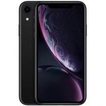"iPhone XR Apple 64GB Preto 4G Tela 6,1"" Retina  - Câmera 12MP + Selfie 7MP iOS 12 Proc. Chip A12"