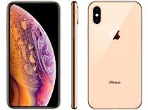 "iPhone XS Apple 64GB Ouro 4G Tela 5,8"" Retina - Câmera Dupla 12MP + Selfie 7MP iOS 12"