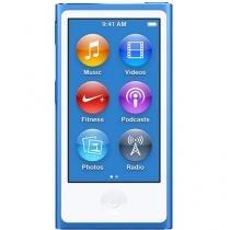 iPod Nano Apple 16GB Tela 2,5 Apple - Multi Touch, Rádio FM e Bluetooth Azul