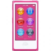 iPod Nano Apple 16GB Tela 2,5 Apple - Multi Touch Rádio FM e Bluetooth Pink