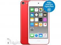 iPod Touch Apple 128GB Tela Multi-Touch Bluetooth - Câm. 5MP + Selfie Vermelho