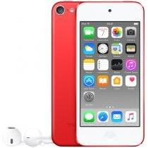 iPod Touch Apple 64GB Tela Multi-Touch Bluetooth - Câm. 5MP + Selfie Vermelho