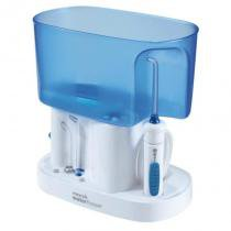 Irrigador Oral Waterpik WP70B 220V Branco e Azul com 6 Ajustes de Pressão -