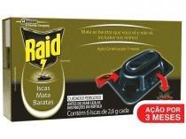 Isca Mata Barata Raid - 6 Unidades