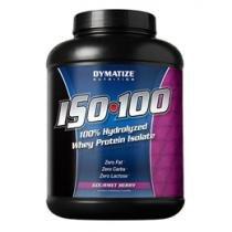 Iso 100 Whey Protein Isolada 100% 2,268Kg Baunilha - Dymatize - Proteína Isolada e Hidrolisada