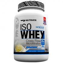 Iso Whey (900g) Proteína 100 Isolada - Nutrata