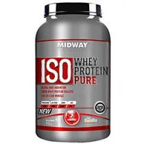 Iso Whey Protein Pure Baunilha 930g - Midway