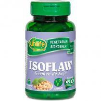 Isoflaw Germen de Soja Isoflavona 60 Cápsulas Unilife -