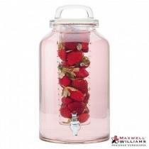 Jarra para suco com infusor em vidro 8,5 litros refresh  Maxwell  Williams -