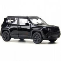Jeep Renegade Trailhawk c/  Fricção 1:32 Preto - Welly