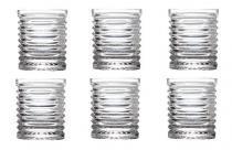 Jogo 6 Copos 220ml De Cristal Para Whisky Layers Lyor - L3526 - Lyor classic