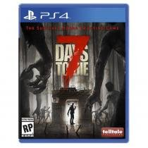 Jogo 7 Days To Die Mídia Física - Ps4 - The Fun Pimps, Telltale Games, Aventura