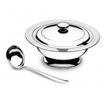 Jogo aço inox para sopa 2 peças - Tramontina - Tramontina
