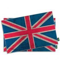 Jogo Americano Bandeira do Reino Unido - 2 peças - Gorila Clube