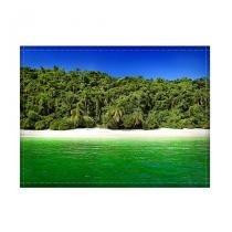Jogo americano decorativo, criativo e descolado  Praia e mar - tamanho 30 x 40 cm - COLOURS  Creative Photo Decor