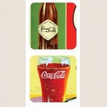 Jogo Americano e Porta Copos 4pc Coca Cola Urban Brasil -