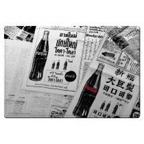 Jogo Americano Jornal Coca-Cola - set com 2 - YAAY