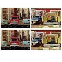 Jogo Americano Vintage Cars - Urban