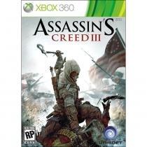 Jogo Assassins Creed 3 Ubisoft para X360 01121341054 - UBISOFT