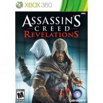 Jogo Assassins Creed Revelations - Xbox 360 - Ubisoft