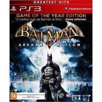 Jogo batman: arkham asylum - ps3 - Warner