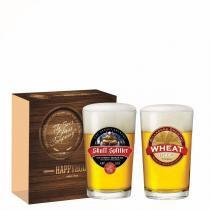 Jogo Copos Cerveja Caldereta Decorado 300ml 2 Peças Ruvolo - Ruvolo