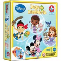 Jogo da Memória Disney Júnior - Estrela 54 Cartas