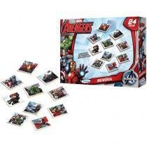 Jogo da Memória Marvel Avengers Xalingo - 24 Peças