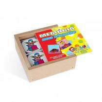 Jogo da Memória Meus Brinquedos em MDF com 40 Peças 1044 - Carlu - Carlu